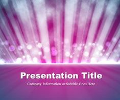 Light Rays Purple PowerPoint Template is a free PowerPoint template with abstract background that you can download and use in your PowerPoint presentations, Keynote presentations or any other PowerPoint killer software
