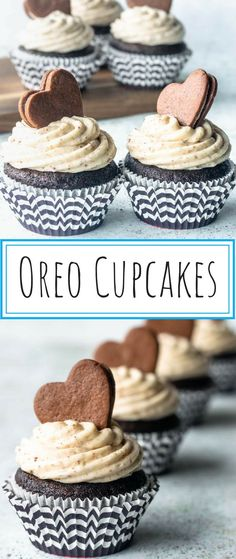 Oreo Cupcakes - Pies and Tacos