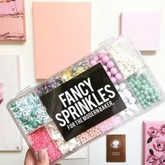 Fancy Sprinkles is your one stop shop for deluxe edible sprinkles, classic jimmies, confetti sprinkles, and metallic gold and silver dragees. Fancy Sprinkles, Rainbow Sprinkles, Cake Decorating Store, Cookie Decorating, Nectar And Stone, Wedding Catering, Catering Events, Party Catering, Catering Food