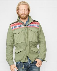Patterned-Yoke Field Jacket at RalphLauren.com. Get cash back on your Ralph Lauren purchases when you use StuffDOT!