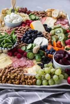 How to Build a Charcuterie Board | A Bountiful Kitchen