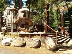 Stop by our park to let the kids play on the play structure. - Two Morrows Tahoe Cabin on the lake's Westshore - Tahoma - rentals