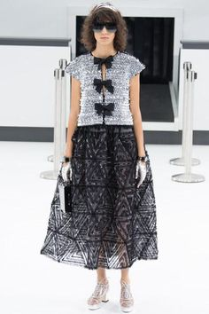 Chanel Spring 2016. See every look on Vogue.com