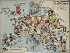 Risultati immagini per europa 1914