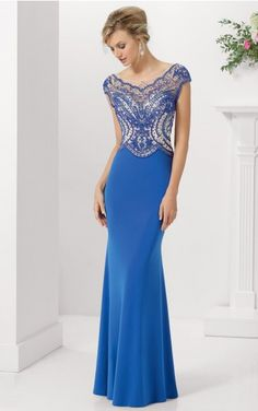 sku:afaa1024; Silhouette:Sheath; Hemline:Floor-length; Fabric:Jersey; Back Details:Zipper; Neckline:Scoop; Waist:Dropped; Colour:As Picture,Champagne; Sleeve Length:Cap Sleeves;