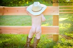 Cute little cowboy from a western style photo shoot (9 months) with Kari Bruck Photography. Children, Kids, Baby, Babies, Photographer (picture Ideas).