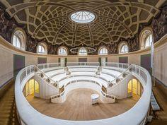 the oldest lecture auditorium of Berlin (Humboldt University).