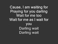 Wait for me- Rebecca St James, with Lyrics