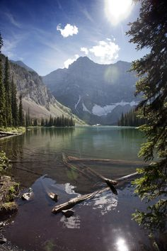 Rawson Lake with Mt Sarrail, Kananaskis, Alberta