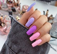 In seek out some nail designs and ideas for your nails? Here's our list of must-try coffin acrylic nails for modern women. Pink Acrylic Nail Designs, Nail Design Glitter, Square Acrylic Nails, Almond Acrylic Nails, Summer Acrylic Nails, Best Acrylic Nails, Acrylic Nail Art, Nails Design, Classy Acrylic Nails