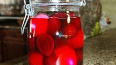 Easy and simple way to make pickled beets and eggs. You can double the recipe for larger gatherings. This is my late grandmother's recipe and everyone loves it. Will keep in fridge for up to 2 weeks. Eggs Quick Pickled Eggs and Beets Beet Recipes, Canning Recipes, Quail Recipes, Salad Recipes, Chicken Recipes, Red Beet Eggs Recipe, Chutney, Pickled Beets And Eggs, Gourmet