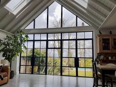 We manufacture and install contemporary roof lights to order. We can make roof lights to any size and shape and offer a superb fitting service give you a tailored service from start to finish. Exterior Barn Doors, Kitchen Diner Extension, Roof Light, Front Entrances, House Floor Plans, Flooring, Lights, Contemporary, Kitchen Windows