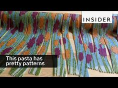 Linda Miller Nicholson from @saltyseattle uses stencils to make vibrant pasta.