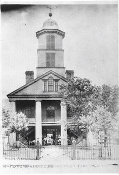 Old picture of Hawkins County Courthouse (photo credit Tenn Artifacts & History)