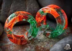 Glass Swirl Plugs #plugs #bodyjewelry