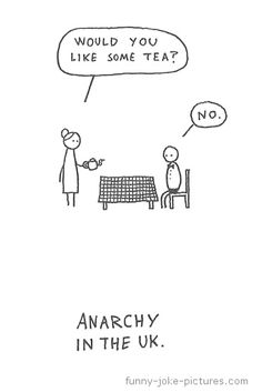 Anarchy in the UK - I think this is hilarious! Humor Videos, I Smile, Make Me Smile, Online Comics, Humor Grafico, Statements, Make Me Happy, Geeks, About Uk