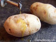 How to make a perfect Homemade Baked Potato like the restaurants