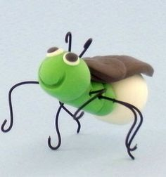 Make a Firefly using Sculpey Clay