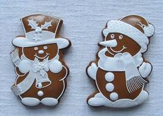 Cute Christmas Cookies, Christmas Gingerbread Men, Christmas Goodies, Gingerbread Cookies, Holiday Baking, Christmas Baking, Cupcake Cookies, Sugar Cookies, Cake Structure