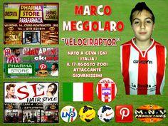 MARCO MEGGIOLARO , STRIKER OF U.L.S. CARCARESE .