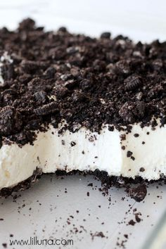 Delicious Dirt Cake recipe - Follow #SightApp and save an entire article or recipe by 1 screenshot (Check How: https://itunes.apple.com/us/app/sight-save-articles-news-recipes/id886107929?mt=8