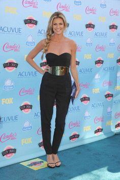 Teen Choice Awards 2013 red carpet arrivals: Erin Andrews