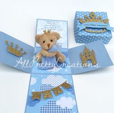 32 Ideas For Baby Shower Ides For Girs Themes Teddy Bears Fancy Baby Shower, Baby Shower Prizes, Boy Baby Shower Themes, Baby Boy Shower, Baby Shower Decorations, Baby Shower Gifts, Teddy Bear Party, Teddy Bear Baby Shower, Teddy Bears
