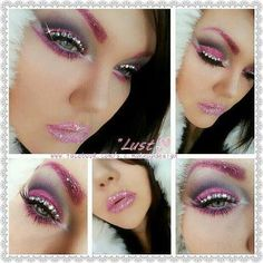 Sarah Chambers- sparkly bling pink