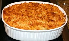 """Mac & Cheese:   Union Woodshop in Clarkston MI makes this awesome dish which is a fave of many people including our very own Kid Rock. It's a """"heart attack special"""" but you 'gotta indulge once in a while!"""