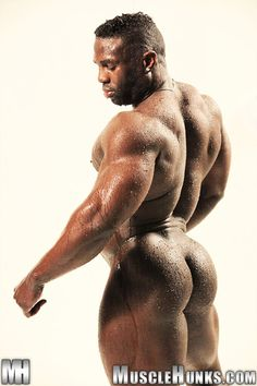Black Muscle Nude 84