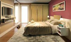 Blog - Decoração de quarto de casal estilo | - Puff - Brasilazy Ar - Puff Casa e Decoração