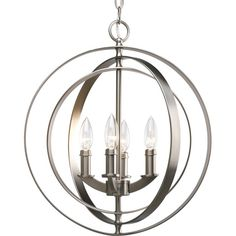 Progress Lighting Thomasville Equinox 4 Light Foyer Pendant | AllModern