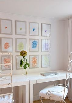 cool & neat ideas for displaying kid's art work | compiled by louisagormley - fleurieu lifestyle | Hello Fleurieu lifestyle blog - Hello Fleurieu | Online Community For Fleurieu and Kangaroo Island Residents