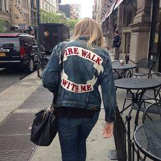 fire walk with me - per pintar-ho a una texana