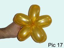 Star Five Points or Flower Balloon Tutorial