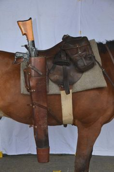Have to be damned careful climbing on that cayuse. Horse Gear, Horse Tack, Saddles For Sale, Larp Armor, English Saddle, Le Far West, Horse Saddles, Beautiful Horses, Firearms