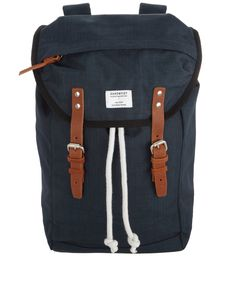 Navy Hans Hiking Backpack, Sandqvist. Shop the latest Sandqvist collection at Liberty.co.uk
