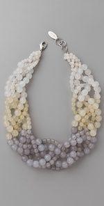 beaded twist necklace: Adia Kibur