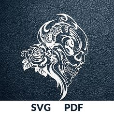 SKULL >> You are buying the digital template of this cut only, not a finished cut. This file is ready to be used with your Cricut, Silhouette Cameo, Brother, or similar cutting machines. The template can be scaled to any size you need for printing or cutting purposes. HOW DOES IT WORK?
