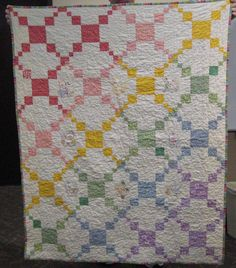 Building Blocks Baby Quilt by Kimberly Crapsey from QuiltPox