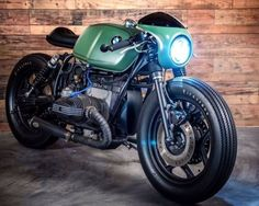 """BMW R Cafe Racer """"Greenlight Racer"""" by K-Speed Shop #caferacerpasion #bmw #motorcycles #caferacer #motos 