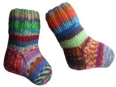 Baby Wool Socks Newborn Socks Hand Knit by handicraftland on Etsy