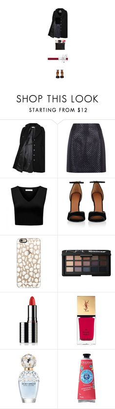 """""""Tenue #892"""" by amandine-bk ❤ liked on Polyvore featuring Hope x Nina Persson, Antipodium, Forever New, Givenchy, Casetify, NARS Cosmetics, Le Métier de Beauté, Yves Saint Laurent, Marc Jacobs and L'Occitane"""