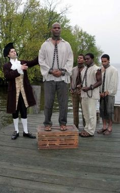 "A new musical about John Newton, the author of ""the most famous song in history"" - ""Amazing Grace"" - opens Thursday, May 17 at the Norma Terris Theatre in Chester. Norris was a slave trader who became an abolitionist. Photo: Contributed Photo / Connecticut Post Contributed"