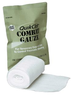 QuikClot Combat Gauze plus all the other tactical medical items you need under one roof. We have all the QuikClot Combat Gauze you will need plus more tactical gear. Disaster Preparedness, Survival Prepping, Survival Skills, Survival Gear, Survival Stuff, Wilderness Survival, Combat Medic, Emergency Medicine, First Aid Kit