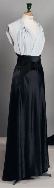 Madeleine VIONNET Haute couture, Printemps - Eté 1938 Griffe grise, graphisme