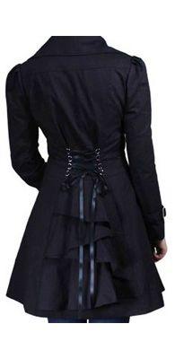 corset back jacket like Jennifer Lawrence's in Silver Linings Playbook!