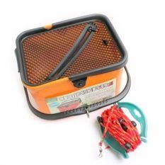 HDF HB-232 Live Bait Bucket with Rope (Orange)