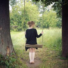I love swings so much