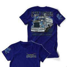 One of our favorite color T Shirts! Nice one to add to your collection! Price: $18.00.  Order online at:  http://www.raneystruckparts.com/stay-loaded-t-shirt-bull-hauler/